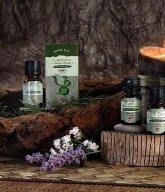 100% natural Essential oils
